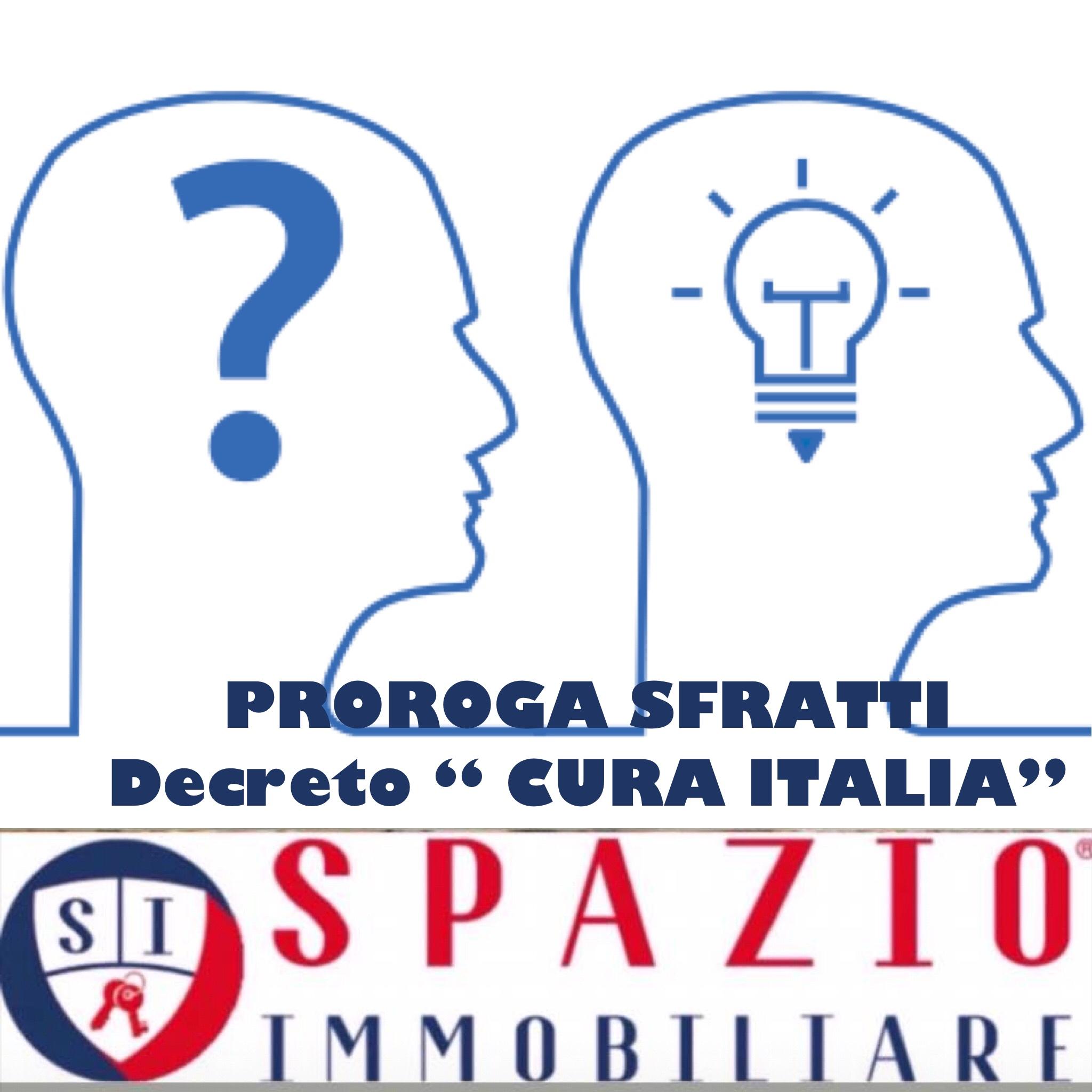 Decreto Cura Italia: sospensione sfratti in essere