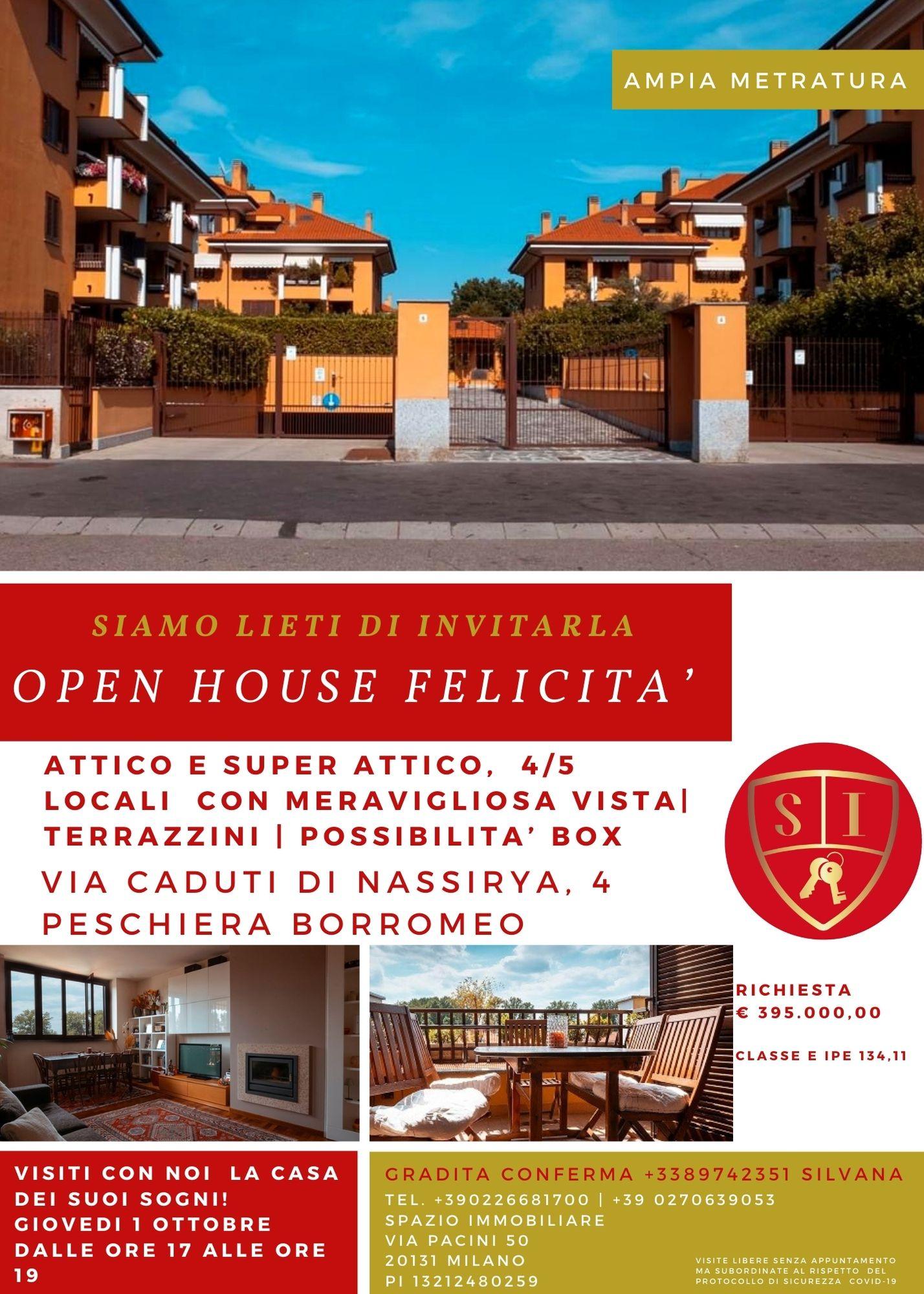 OPEN HOUSE  1 Ottobre