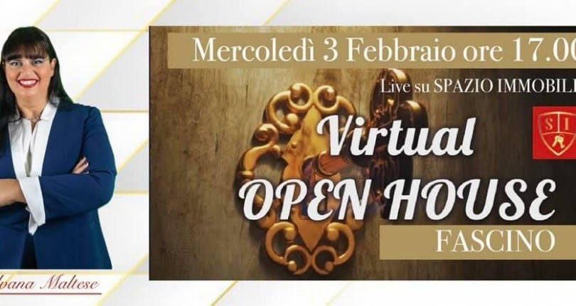 VIRTUAL OPEN HOUSE ogni giovedì alle ore 17.00