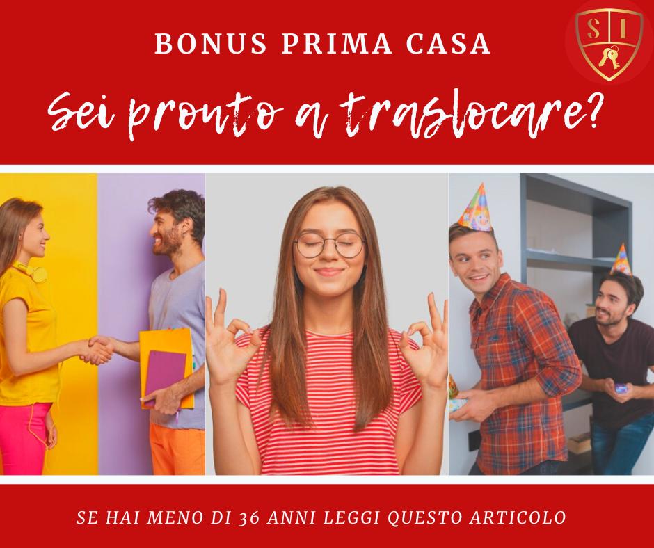 Bonus Prima Casa Under 36